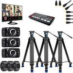Streamingkit 3st BMD Pocket Cinema Camera 4K + BMD Atem Mini Pro ISO