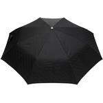 Burberry - paraply med monogram - unisex - läder/polyamid/polyester/aluminium/abs-plast/glasfiber - one size - Svart