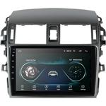 T3 9 Tums Android 8.1 Bilstereo Radio Quad Core 1 + 32G AM RDS 3G WIFI bluetooth GPS för Toyota Corolla 2008-2013
