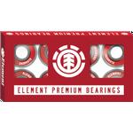 Element Premium Bearing Skateboardtillbehör RED - One size