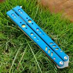 balisong butterfly three colors D2 G10 handle trainer training knife not sharp Crafts Martial arts Collection knvies xmas gift