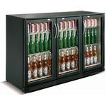 Drickakyl 298 liter 3 dörrar svart