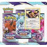 Pokemon SWSH Chilling Reign 3-Pack Blister: Eevee