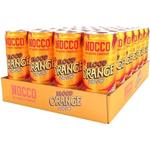 NOCCO Blood Orange Del Sol 33cl x 24st (Helt flak)