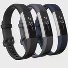Fitbit Alta/Alta HR armband silikon - 3-pack (S) - svart/grå/blå