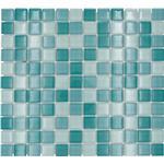 Mosaik glas XCM 8114 30,2x32,7 cm grön