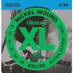 String set, Electric guitar, Extra Super Light, 010, D'Addario