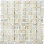 Mosaik Metallic 3D White 31,5X31,7Cm Pris Per Ark