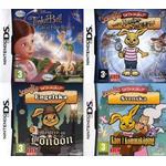4 fantastiska barnspel till Nintendo DS (Bundle) /Nytt