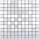 Mosaik Självhäftande Square Alu Silver 29X29Cm