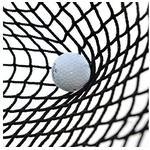 Golfnät L 8 x H 5 m, 2mm Tråd