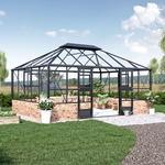 Växthus Idyll Mur 18,8 m² 18,8 m²