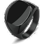 Signet Ring - 6 / Black