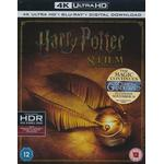 Harry potter complete Filmer Harry Potter - Complete 8-film Collection - 4K Ultra HD Blu-ray