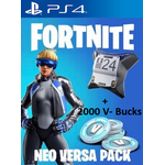 Fortnite Epic Neo Versa Bundle + 2000 V-Bucks PS4 - PSN Key - EUROPE