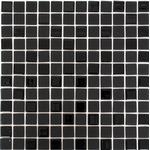 Mosaik Självhäftande Square Svart 2.3X2.3Cm Pris Per Ark