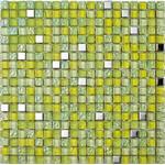 Lagos Lima Grön Glasmosaik 1,5x1,5cm