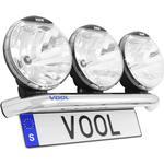 Belysningspaket V5500 Ljusramp och NBB Alpha 225 60W Xenon (3 st extraljus)