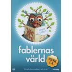 Fablernas värld Filmer Fablernas Värld - Volym 1-4 Box (4-disc)