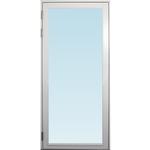 SP Fönster Altandörr Stabil 980x2080mm vänster helglas 3-glas, härdad in och utsida (10x21)