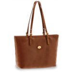 The Bridge - Shopper - Shoppingväska-Brown/Gold