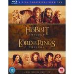 Lord led Filmer Hobbit and Lord of the Ring: Theatrical Versions (Blu-ray)