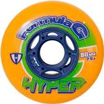 Hyper Wheels Hockey Indoor Formula G Era 72 mm / 76A Orange