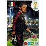 Grundkort, 2014 Adrenalyn World Cup #242. José de Jesús Corona (Mexico)
