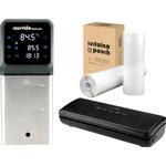 iVide® Plus Jnr WIFI Sous Vide Stav (IPX7-Vattentät) + iVide Plus Vakuumförpackare