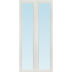 SP Fönster Altandörr Intakt 980x2080 vänster inåt par helglas 3-glas isoler, härdad in och utsida (10x21)