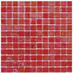 Mosaik lustre rouge 2,5x2,5cm
