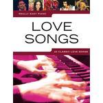 Keyboard nybörjare Musikinstrument Really Easy Piano: Love Songs notbok