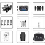 Sg901 / sg907 drone, gps hd 4k kamera för barn - 4k 5g / Kina