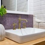 Glasmosaik Lilac/Gold 20x20 mm (325x325)