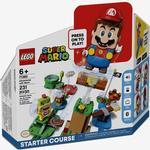 Lego Super Mario Äventyr med Mario - startbana