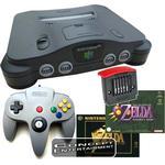 N64 Startpaket Double Zelda Pak
