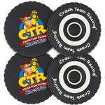 Official Crash Team Racing Nitro-Fueled Tyre Coasters - One Size