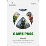 Xbox Game Pass 3 Månader