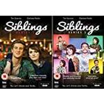 Siblings Complete Series 1 and 2 DVD Collection - As seen on BBC3, Starring Charlotte Ritchie and Tom Stourton