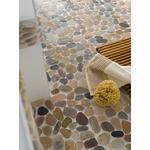 mosaik ws pebble cut mix beige/grey/rot 30-80x9