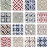 Kakel Country patchwork 13,2x13,2cm