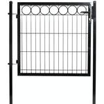 """Gate for panel fence with deco \""""O\"""" 100 cm"""