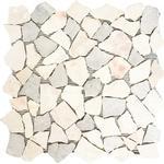 Mosaik natursten CIOT 30/4013 30,5x32,2 cm beige/grå