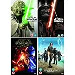 The Complete Star Wars Episodes 1 - 8 [8 disks] Movie DVD Collection: Episode 1 - Phantom Menace / Episode 2 - Attack Of the Clones / Episode 3 - Revenge of the Sith / Episode 4 - The New Hope / Episode 5 - The Empire Strikes Back / Episode 6 - Return of the Jedi / Episode 7 - The Force Awakens / Episode 8 - Rogue One: A Star Wars Story