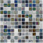Mosaik lustre grey 2,5x2,5cm