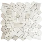 Mosaik natursten CIOT 30/2012 30,5x32,2 cm pastellbeige/grå
