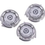 3x Shaving Razor Replacement Blade Shaver Heads For Sh50 Hq8 Sha One Size
