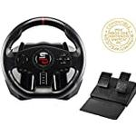 Superdrive - Steering wheel SV700 with pedals, shift paddles and vibrations - PS4, Xbox One, Switch, PC, PS3 (compatible with all games)