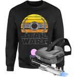 What came first game Herrkläder Star Wars AR and Sweatshirt Bundle - Kids' - 3-4 Years - Black