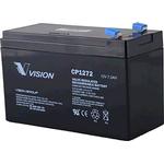 12 volts blybatteri 7,2 Ah CP1272